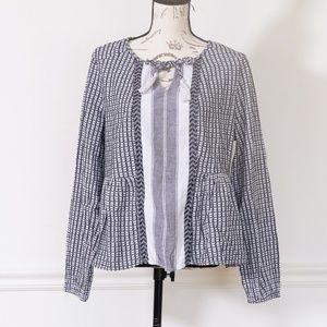 Women's peasant boho chic blouse, size XL